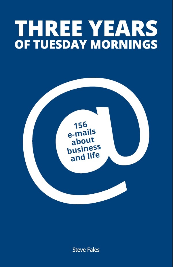 Click to buy Three Years of Tuesday Mornings